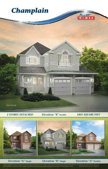 Champlain - Pratt New Homes Innisfil