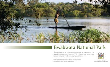 Bwabwata National Park - Ministry of Environment and Tourism