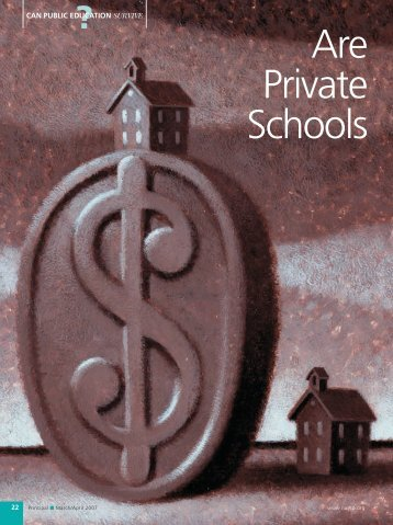 Are Private Schools - National Association of Elementary School ...