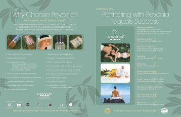 Why Choose Pevonia? Partnering with Pevonia ... - Golden Lotus