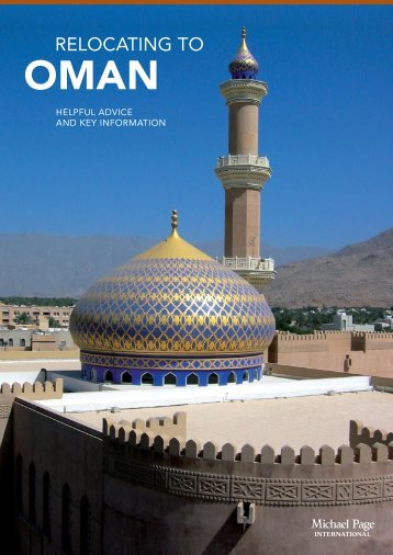 Relocating to Oman - Michael Page