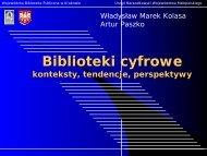 Biblioteki cyfrowe - Fidkar