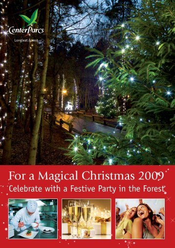 For a Magical Christmas 2009 - Center Parcs