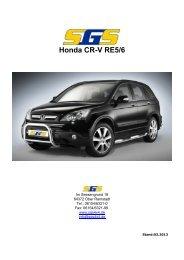 Honda CR-V RE5/6 - SGS