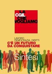 Sintesi del Documento - CGIL Funzione Pubblica Roma e Lazio