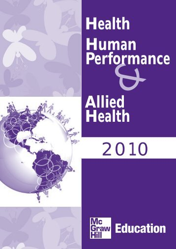 Health Allied Health Human Performance - McGraw-Hill Books