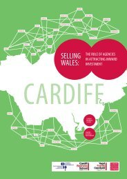 SELLING WALES: - Cardiff Business School - Cardiff University