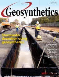 Geosynthetics, June July 2010