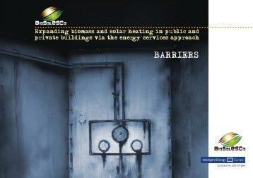BARRIERS - Biosolesco