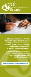 Improving educational supportservices provided by the local ... - VVOB