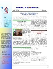 PANCAP e-News - Pan Caribbean Partnership against HIV & AIDS