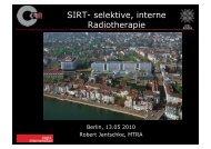 SIRT- selektive, interne Radiotherapie