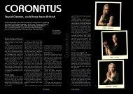 Coronatus - Hallowed.se