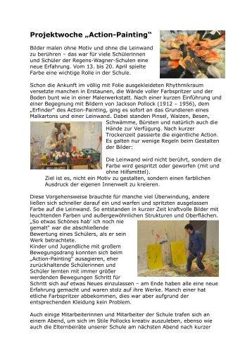 Bericht Zur Projektwoche   Regens Wagner Schule Holzhausen