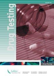 Labtec Services AG Tel. 056 619 89 19 info@labtec-services.ch CH ...