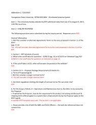 Addendum 2, 7/10/2013 Youngstown State University -‐ RFP ...