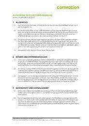 AGB Comvation AG (pdf) - Contrexx