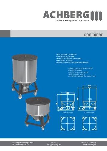 2013-04-03 Flyer Rollcontainer - Siloanlagen Achberg GmbH
