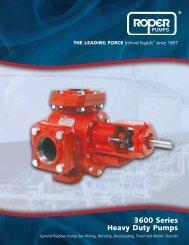 3600 Series Heavy Duty Pumps - inducom