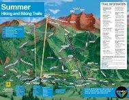 Trails Map - Snowbird