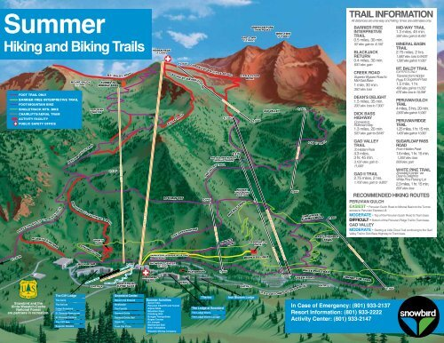 Trails Map - Snowbird on seven springs mountain resort map, north salt lake city map, sundance map, tropic map, salem map, thousand trails map, keystone resort map, st. george map, richmond map, vail map, midway map, wasatch front map, alyeska map, draper map, alta map, salt lake city utah on usa map, winter park resort map, delta map, jackson hole map, glendale map,