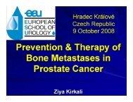 View full slide presentation - European Association of Urology