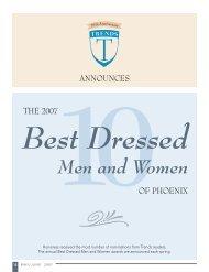 Best Dressed Men and Women - Trends Magazine