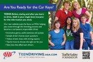 TeenDriving.AAA.com Postcard