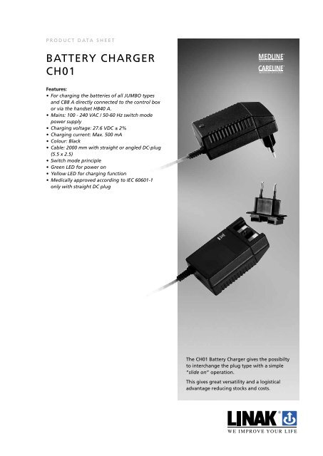 BatterY charGer ch01 - Linak