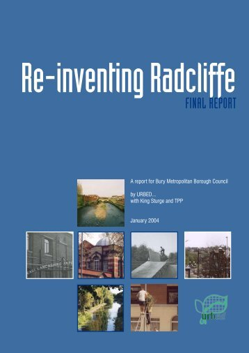 Re-inventing Radcliffe Report - Urbed
