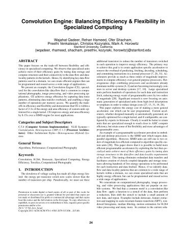 Convolution Engine: Balancing Efficiency and Flexibility in ...