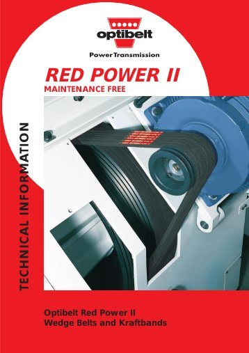 Red Power II Technical Info - Belting Ware