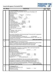 FischerKLIPTEC - Fischer Profil   Elemente fürs Bauen