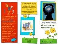 Virtual Desktop Access Brochure - Derby Public Schools