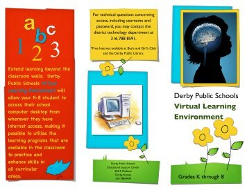 Virtual Desktop Access Brochure - Derby Public Schools