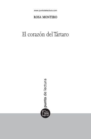 Primeras páginas de 'El corazón del Tártaro' - Alfaguara