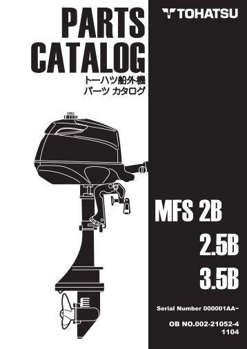 MFS 2B 2.5B 3.5B - Tohatsu