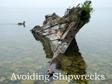 Avoiding Shipwrecks - Bridgelin.ca
