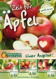 Unser Angebot: - Schneiders Obsthof