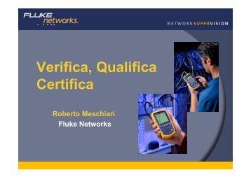 Differenze tra Verifica, Qualifica e Certifica delle ... - Gfo Europe S.p.A.