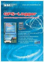 SM Anleitung GPS-Logger v1.10 - SM-Modellbau