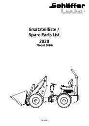 Ersatzteilliste / Spare Parts List