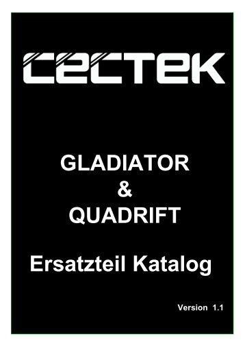 Cectek Gladiator u. Quadrift