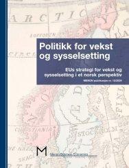 Politikk for vekst og sysselsetting - Regjeringen.no