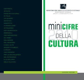 Pubblicazione in formato PDF (34 pagine) - Ministero per i Beni e le ...