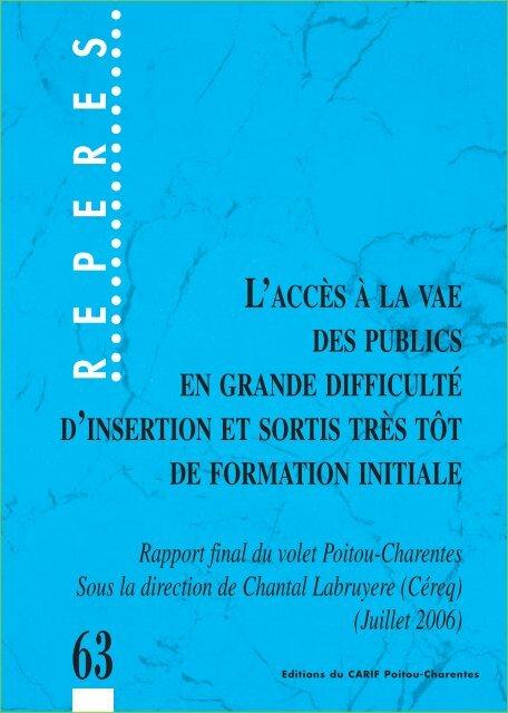REPERES - Le conseil VAE en Bretagne