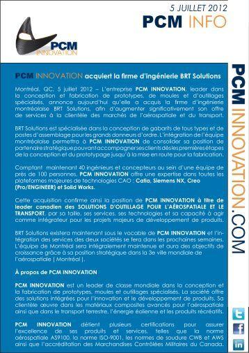 PCM INFO