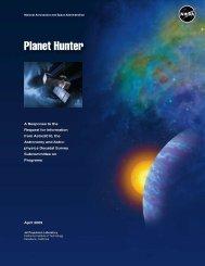 Planet Hunter - Exoplanet Exploration Program - NASA