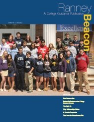 Volume 7, Issue 2 INSIDE - Ranney School