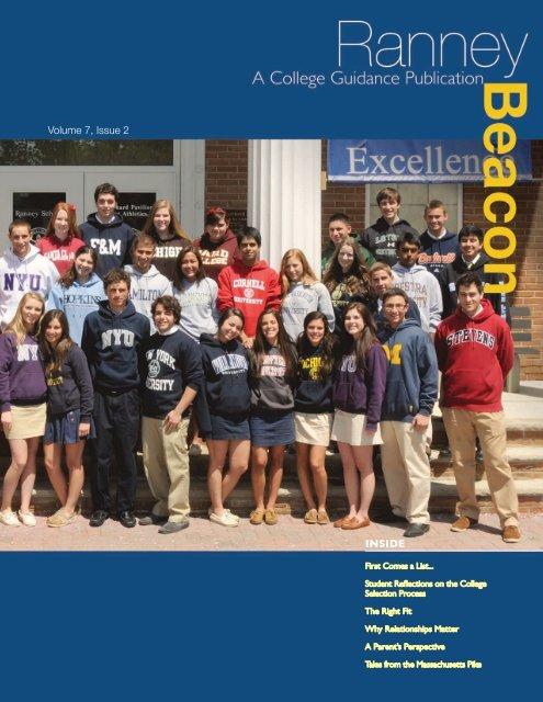 Volume 7, Issue 2 INSIDE - Ranney School